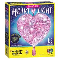 Creativity for Kids String Art Heart Light Kit