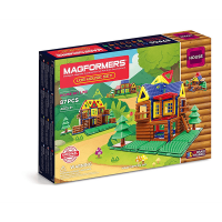 Magformers Log Cabin 87 Piece Set