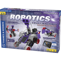 Thames and Kosmos Robotics Smart Machines: Rovers and Vehicles