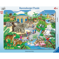 Ravensburger Visit the Zoo 45 Piece Puzzle