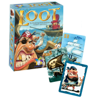 Gamewright Loot Pirate Card Game