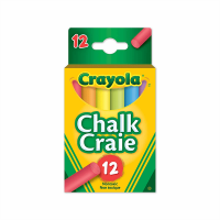Crayola 12 Coloured Chalk