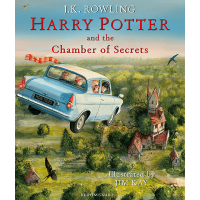 Harry Potter and the Chamber of Secrets: Illustrated Edition Hardcover Book