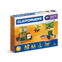 Magformers Clicformers Basic (90 Piece Set)