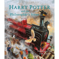 Harry Potter and the Philosopher's Stone: Illustrated Edition Hardcover Book