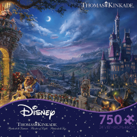 Ceaco Disney Beauty and the Beast Moonlite 750 Piece Puzzle