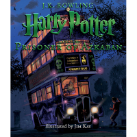 Harry Potter and the Prisoner of Azkaban: Illustrated Edition Hardcover Book