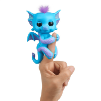 Fingerlings Baby Dragon Tara (Blue and Purple)