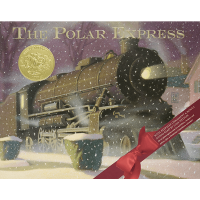 The Polar Express 30th Anniversary Edition Hard Cover Book