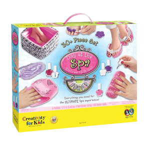 Creativity for Kids Day at the Spa Deluxe Gift Set - Box Front