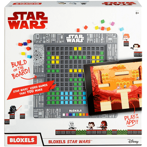 Mattel Bloxels: Star Wars Edition Video Game Kit - Box Front